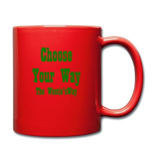 Choose Your Way Green - Kubek jednokolorowy