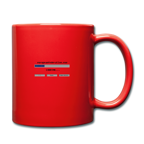europeanfederation.exe - Full Colour Mug