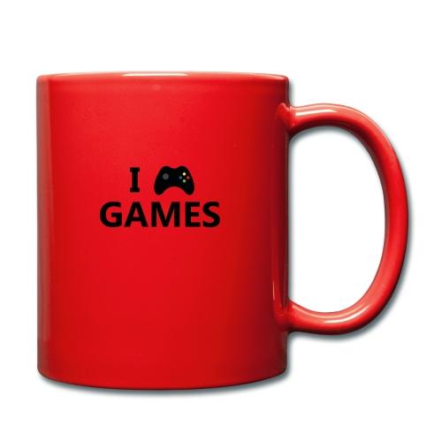 I Love Games 3 - Taza de un color