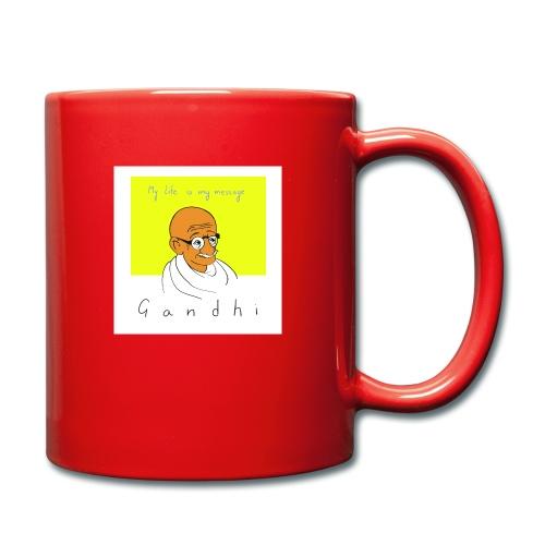 Gandhi - Tasse einfarbig