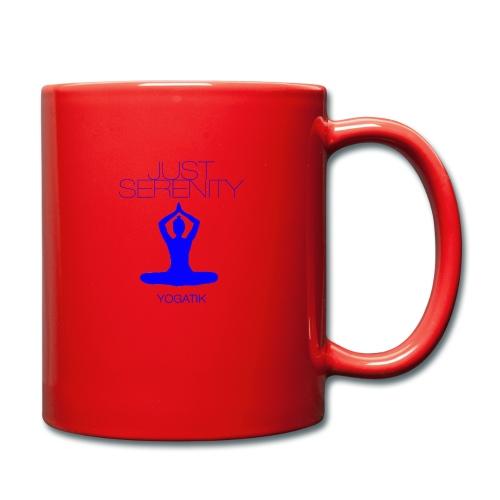 yogatyk blue - Mug uni