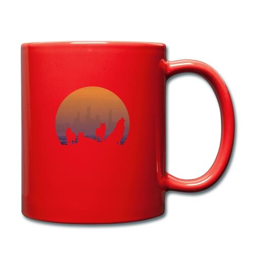 Wolfsrudel - Tasse einfarbig