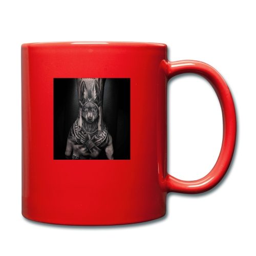hund - Tasse einfarbig