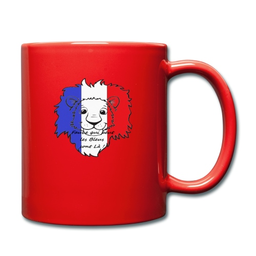 Lion supporter France - Mug uni