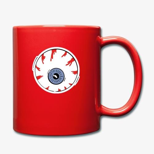 I keep an eye on you / Auge - Tasse einfarbig