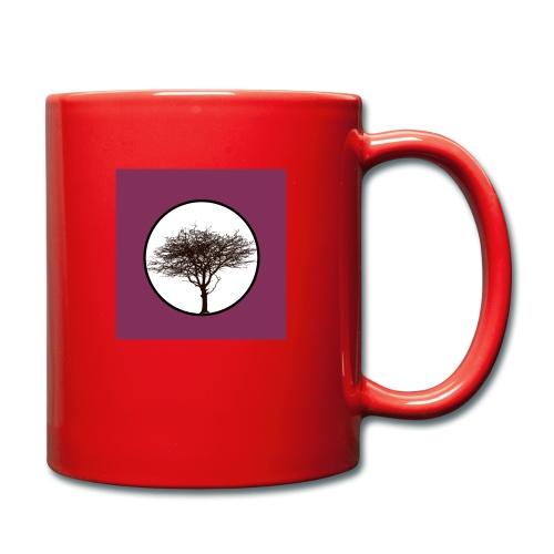 Baum in Kreis - Tasse einfarbig