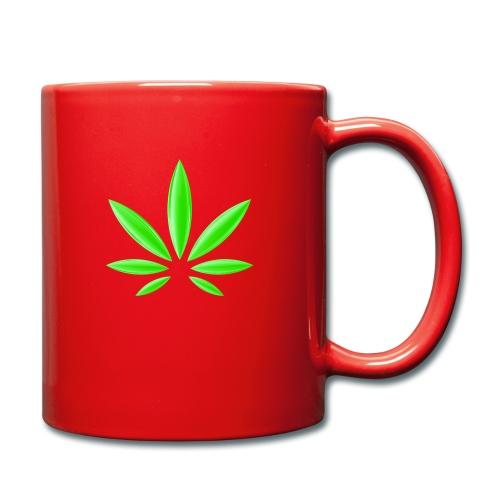 T-Shirt Design für Cannabis - Tasse einfarbig