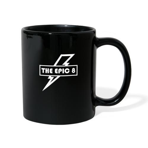 The Epic 8 - Valkoinen logo, iso - Yksivärinen muki