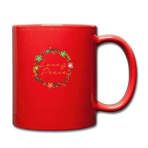 Love and Peace - Full Colour Mug