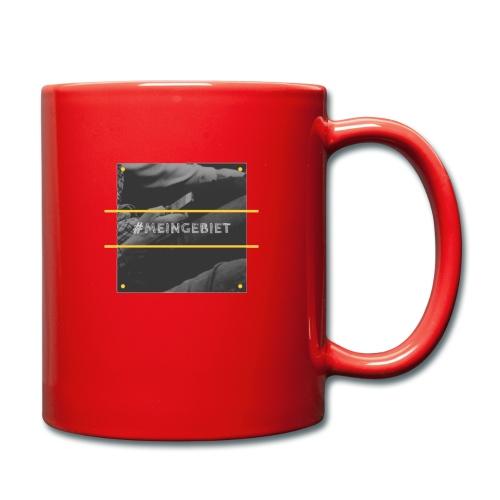 MeinGebiet - Tasse einfarbig