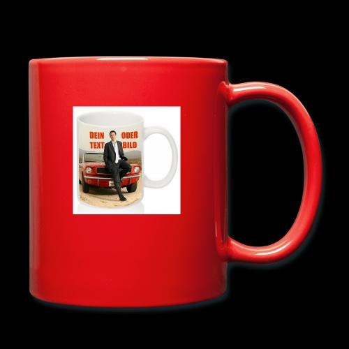 Tasse mit Ihrem persönlichen Bild - Tasse einfarbig
