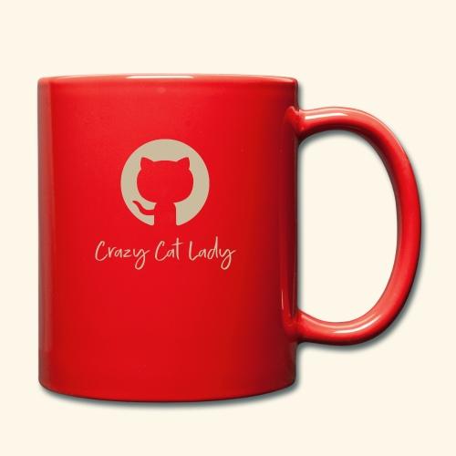 Crazy Cat Lady - Yksivärinen muki