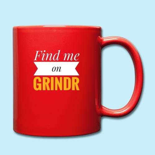 Trouve moi sur Grindr - Mug uni
