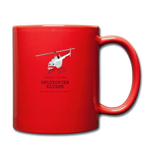 Helikoptereltern - Tasse einfarbig