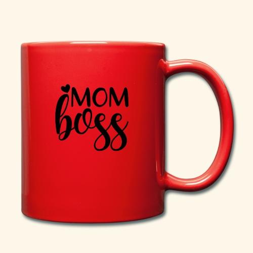 MomBoss5 - Tasse einfarbig