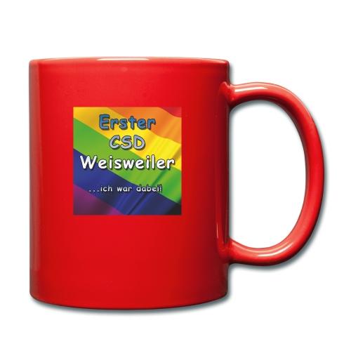 Erster CSD Weisweiler - Tasse einfarbig