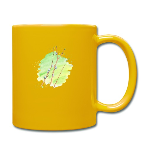 Weidenkätzchen - Tasse einfarbig