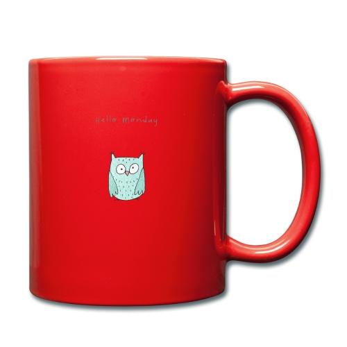 Hello Monday - Tasse einfarbig