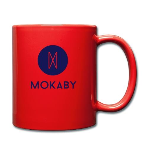 MokabyLOGO 34 - Tasse einfarbig