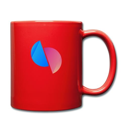 Ediplace logo färg - Enfärgad mugg