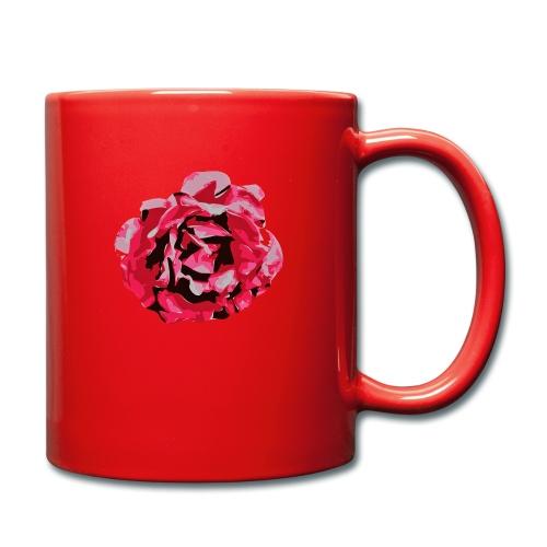 rose - Tasse einfarbig