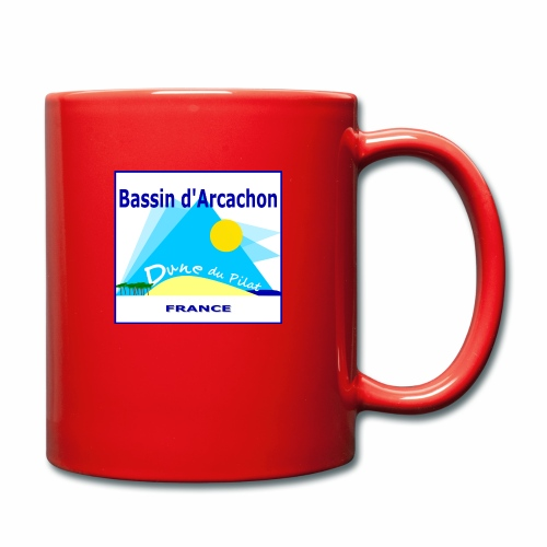 Bassin d'Arcachon - Dune du Pilat - Full Colour Mug
