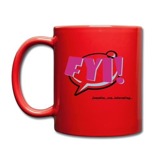 FYI.ai - Yksivärinen muki