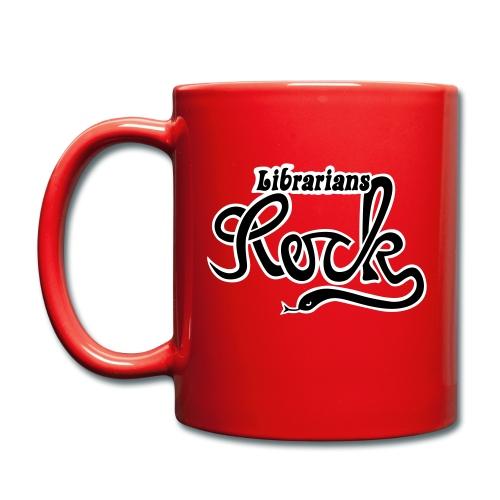Librarians ROCK - Enfärgad mugg