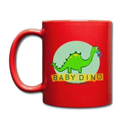 American Spanish Baby Dino - Taza de un color