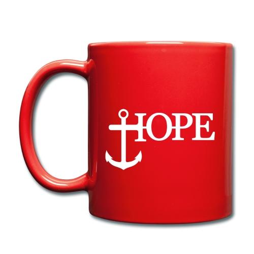 Hope Anker Anchor Hoffnung - Tasse einfarbig