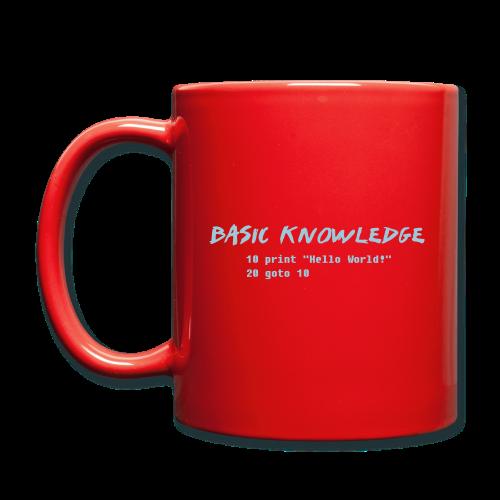 Basic Knowledge - Enfärgad mugg