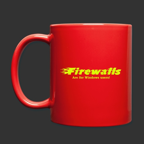 Firewalls - Enfärgad mugg
