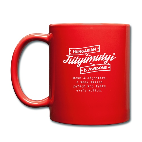 Tutyimutyi - Hungarian is Awesome (white fonts) - Full Colour Mug