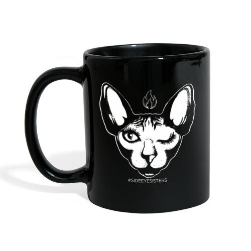 SIDE EYE SISTERS CAT - Full Colour Mug
