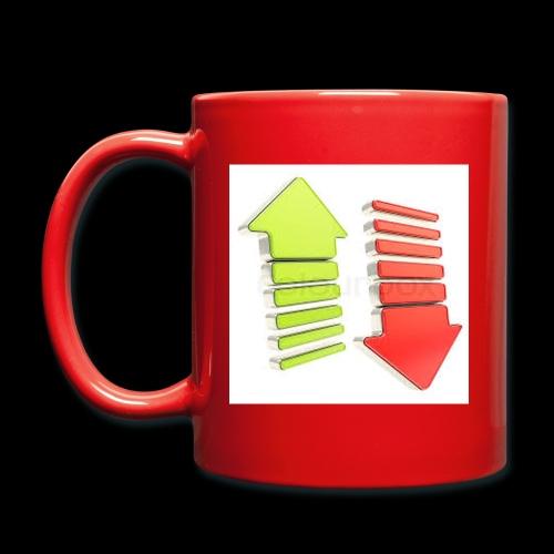 Kanallogo in einer ganz besonderen Art - Tasse einfarbig