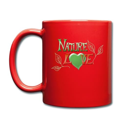 Nature Love - Tasse einfarbig