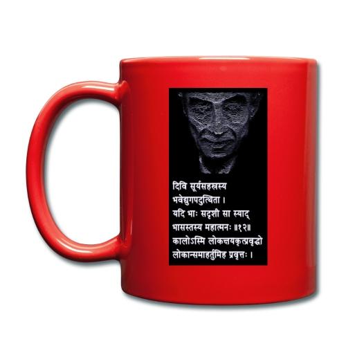Oppenheimer s Sanskrit Verse I am Become Death - Full Colour Mug