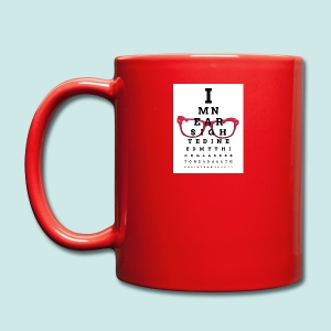 Eyechart Glasses Glasses - Tasse en couleur