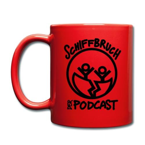 Schiffbruch - Der Podcast - Tasse einfarbig
