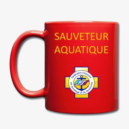 SAUVETEUR AQUATIQUE FFSS - Mug uni