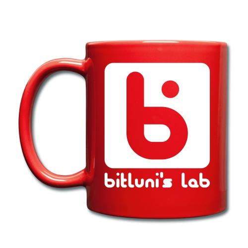 logo red - Tasse einfarbig