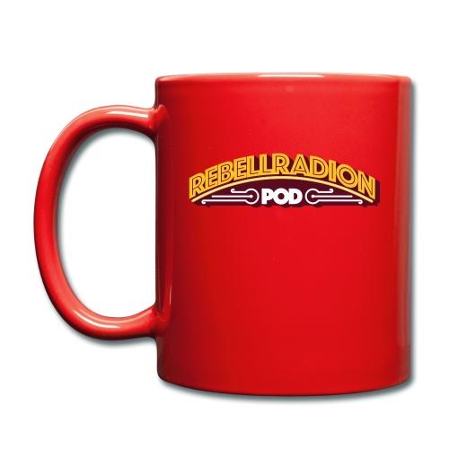 rebellradion logo 2017 - Enfärgad mugg