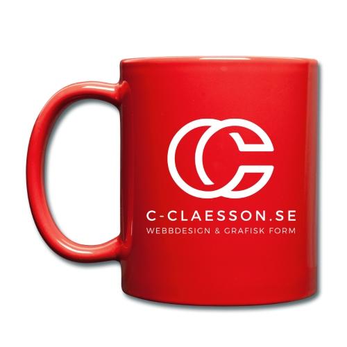 C-Claesson Webbdesign - Enfärgad mugg