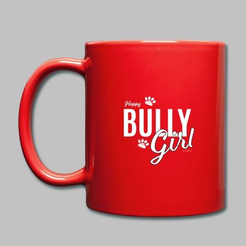 Happy Bully Girl - Französische Bulldogge Frenchie - Tasse einfarbig