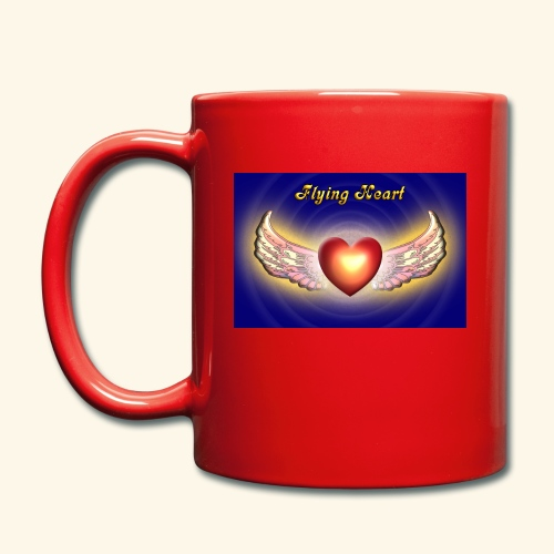 Flying Heart - Tasse einfarbig