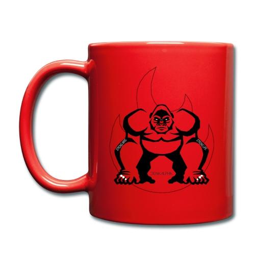 Gorilla Flame - Tasse einfarbig