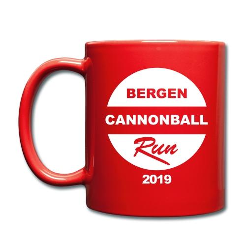 Bergen Cannonball Run 2019 - Ensfarget kopp