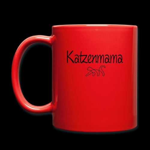 Katzenmama - Tasse einfarbig