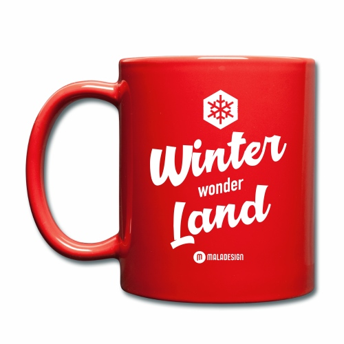 Winter Wonder Land - Yksivärinen muki