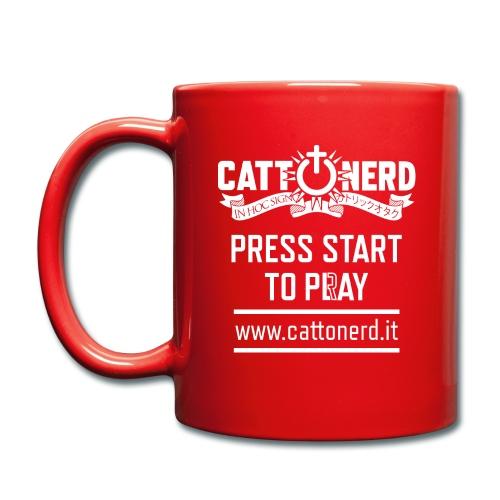 CattOnerD Press Start - Tazza monocolore